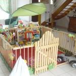 2 m2, on dirait un petit jardin à l'intérieur de la maison de Loïc, c'est limite magique !