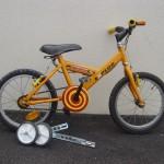 inclus dans la prestation, il y a aussi apprentisage du vélo sans roulette !