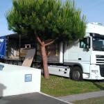 ça y est le camion de l'extension arrive !